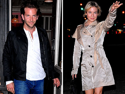 Bradley Cooper and Renee Zellweger Enjoy Dinner, Cup-Sniffing During Intimate Night Out