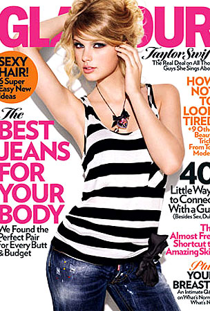 Taylor Swift Covers Glamour