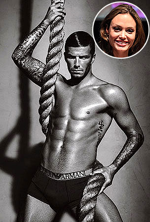 David Beckham and Angelina Jolie to Team Up for Armani Ad?