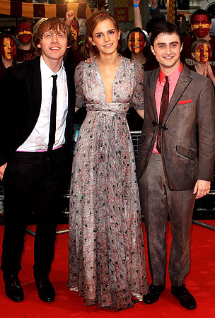 Harry Potter and the Half-Blood Prince Premieres in London!
