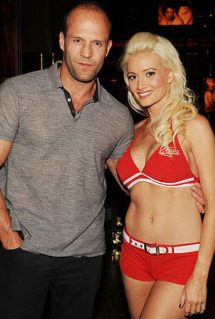Hookup Alert: Holly Madison…and Jason Statham?