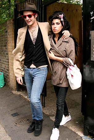 Amy Winehouse and Blake Fielder-Civil Are Divorced