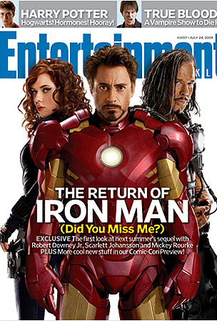 Iron Man 2 Cast Has Entertainment Weekly Covered