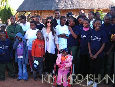 Kim Kardashian: Into Africa