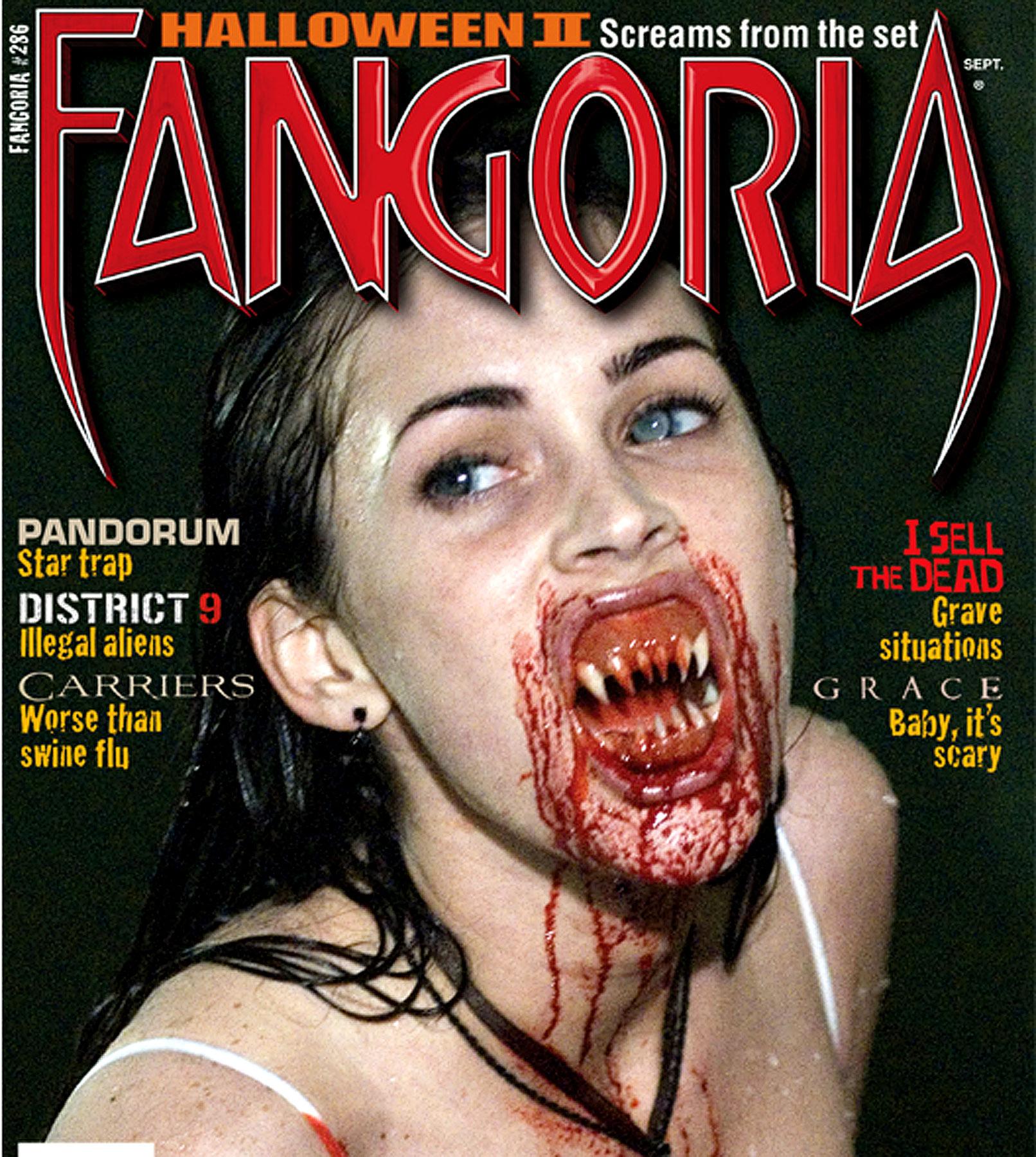 Megan Fox Puts the 'Fang' in 'Fangoria'
