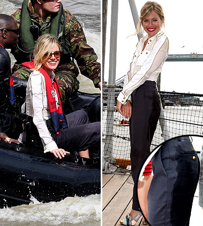 Sienna Miller Is a Pants-Wetter