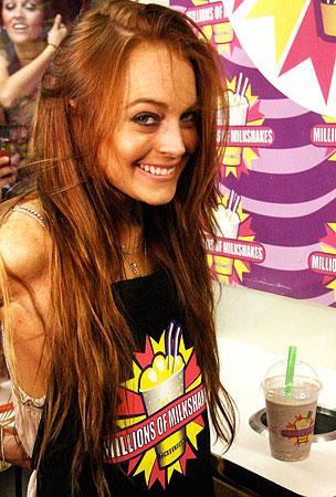 VIDEO: Lindsay Lohan Is Shaken, Not Stirred