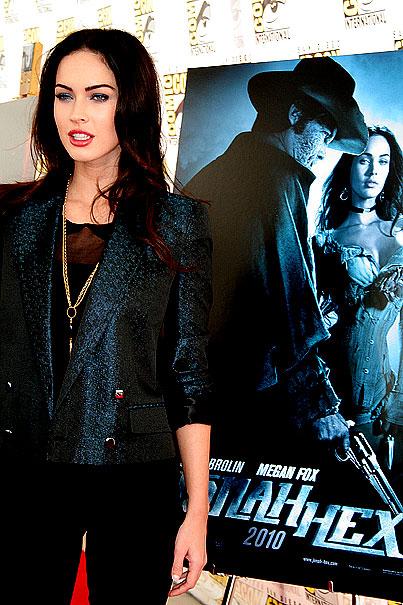 PHOTO GALLERY: Megan Fox, Robert Downey Jr. Heat Up Comic-Con