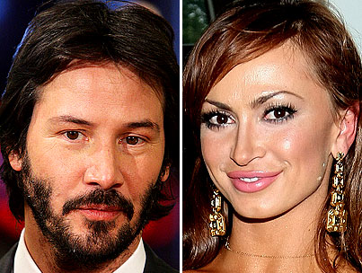 Karina Smirnoff Wants To Dance With Keanu Reeves