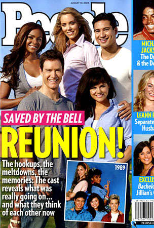 The 'Saved By The Bell' Cast Reunites!
