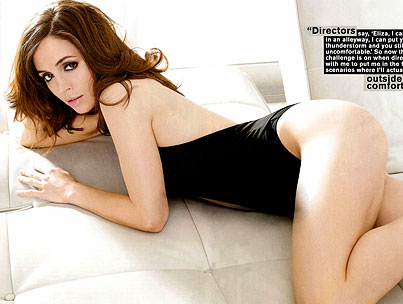 Eliza Dushku Gets Dolled Up for 'FHM'