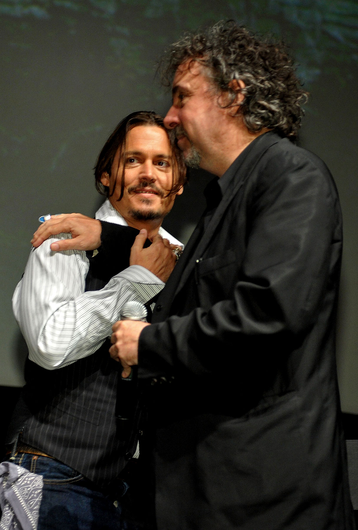 Johnny Depp and Tim Burton Talk 'Dark Shadows'