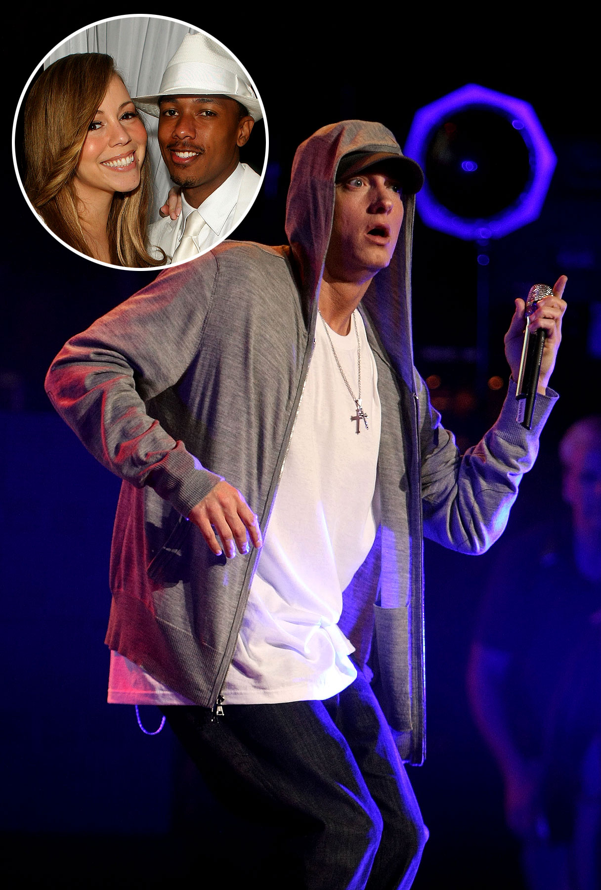Eminem Threatens Nick Cannon and Mariah Carey In New Single