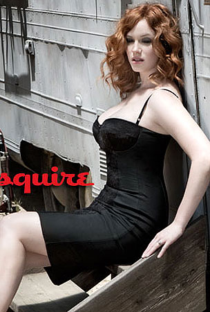 PHOTO GALLERY: Christina Hendricks Hot in Esquire