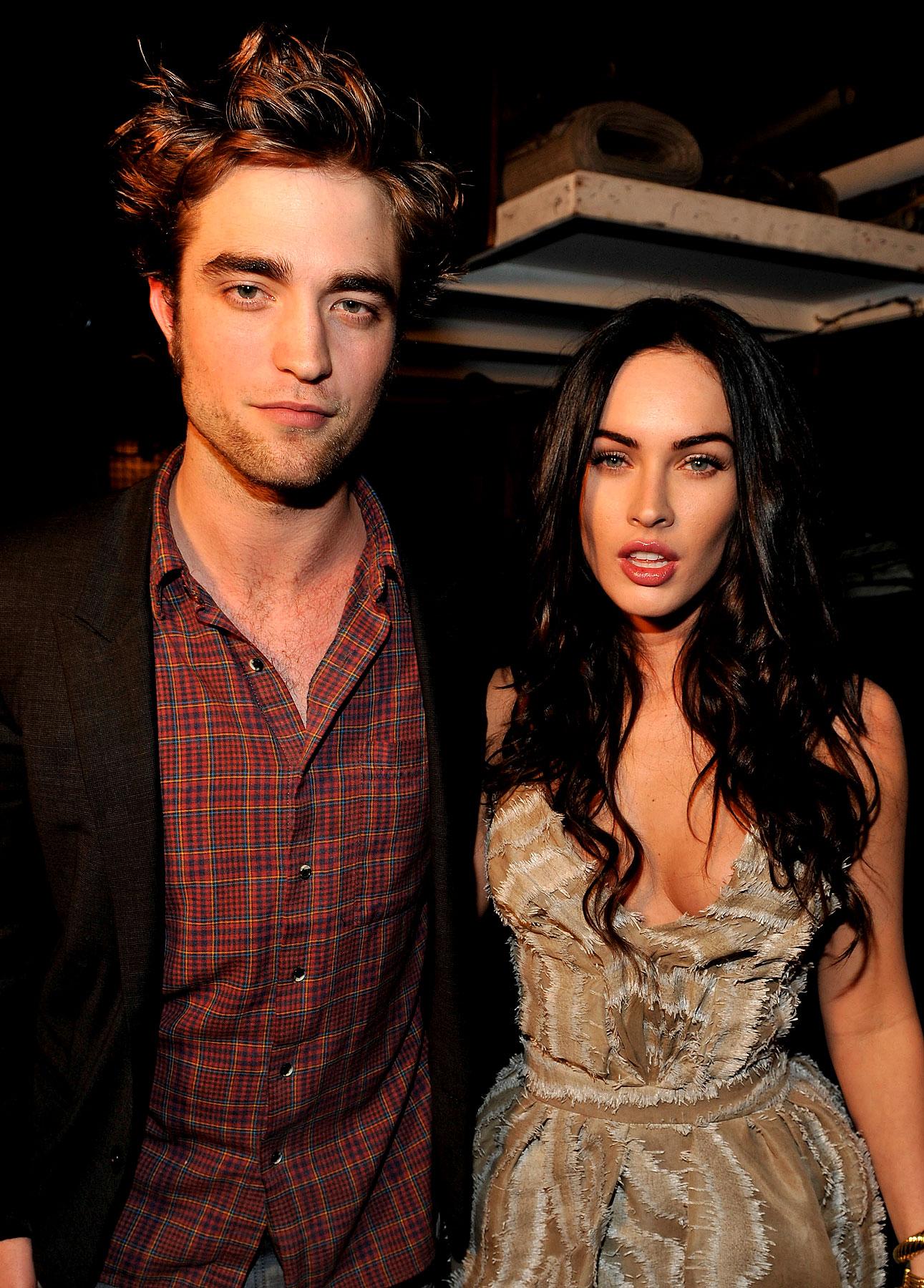 VIDEO: Rob Pattinson and Megan Fox Take The Stage