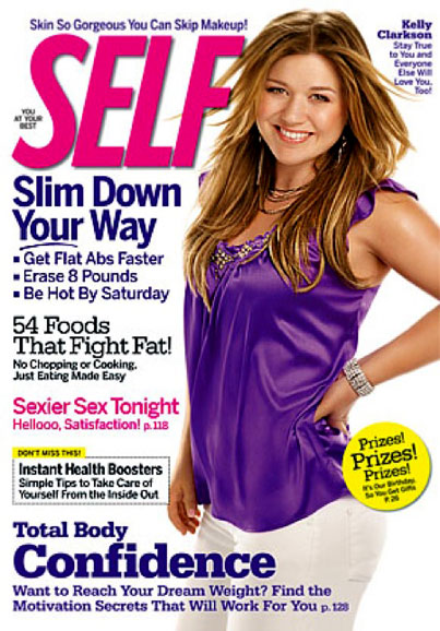 Kelly Clarkson Doesn't Have A Problem With Her Weight