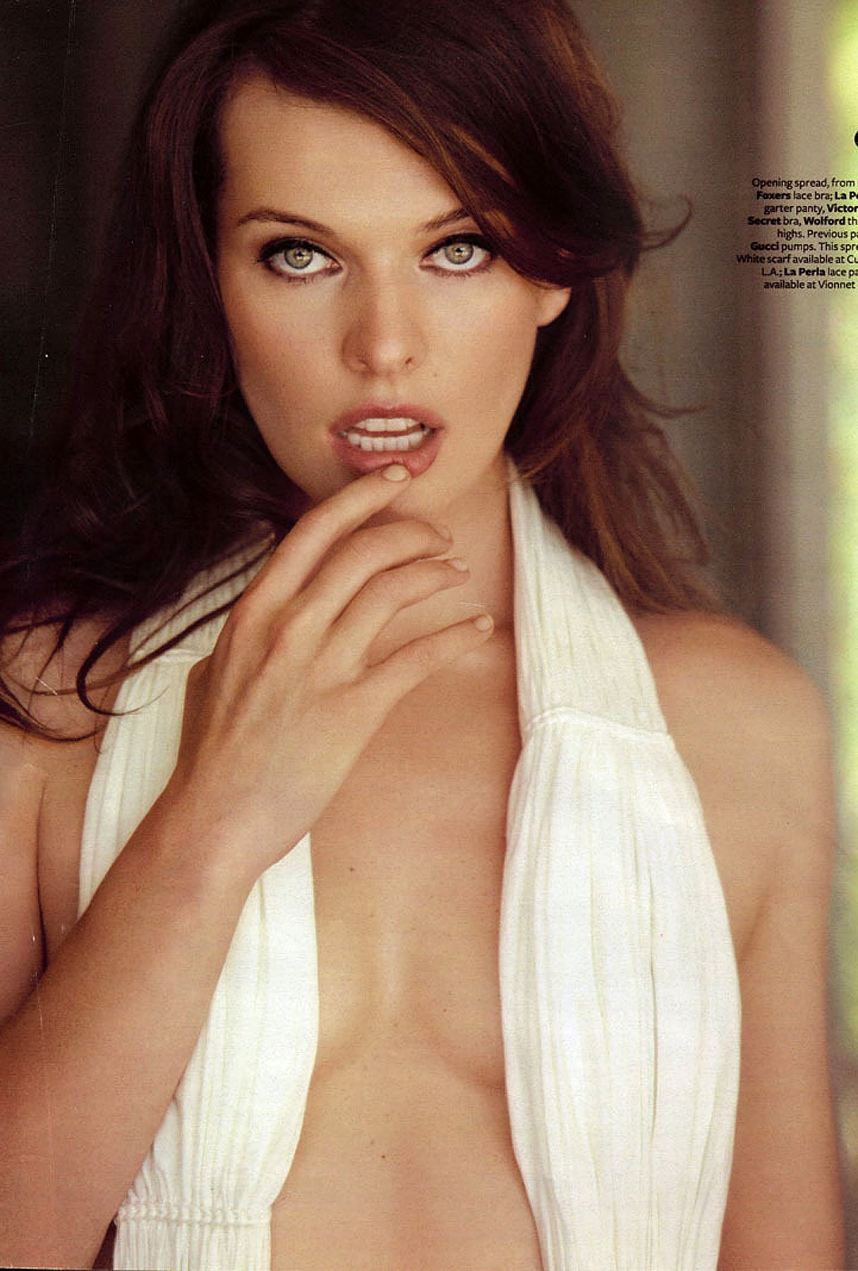 Milla Jovovich Strips Down for Maxim