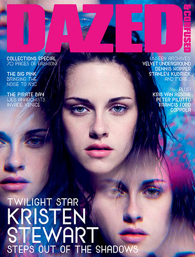 Kristen Stewart Looks a Little Dazed
