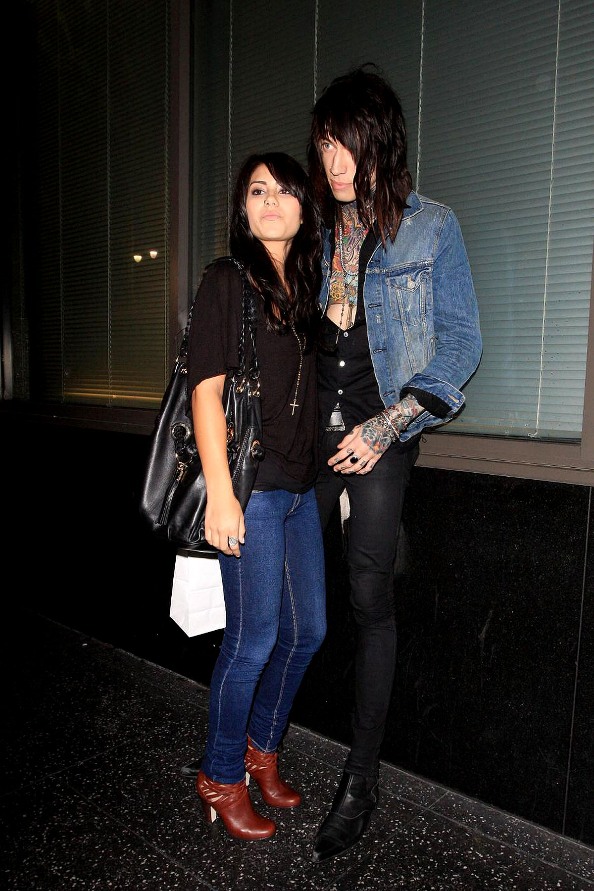PHOTO GALLERY: Trace Cyrus's Demi Lovato-ish Date