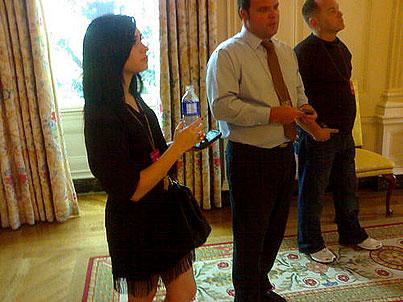 Demi Lovato Takes Over the White House!