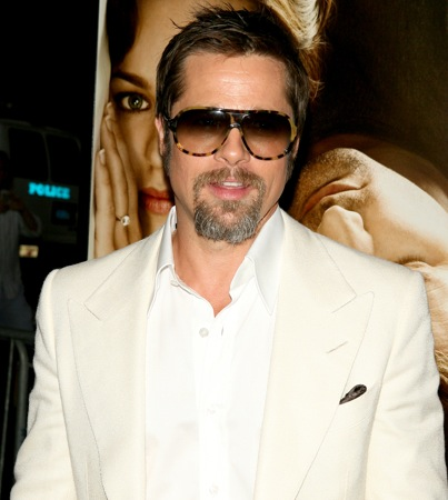 VIDEO: Brad Pitt Does Some Heavy Lifting