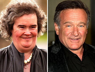 Robin Williams to Play Susan Boyle?