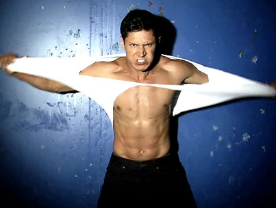 VIDEO: Shirtless Alex Meraz Is Freaking Us Out