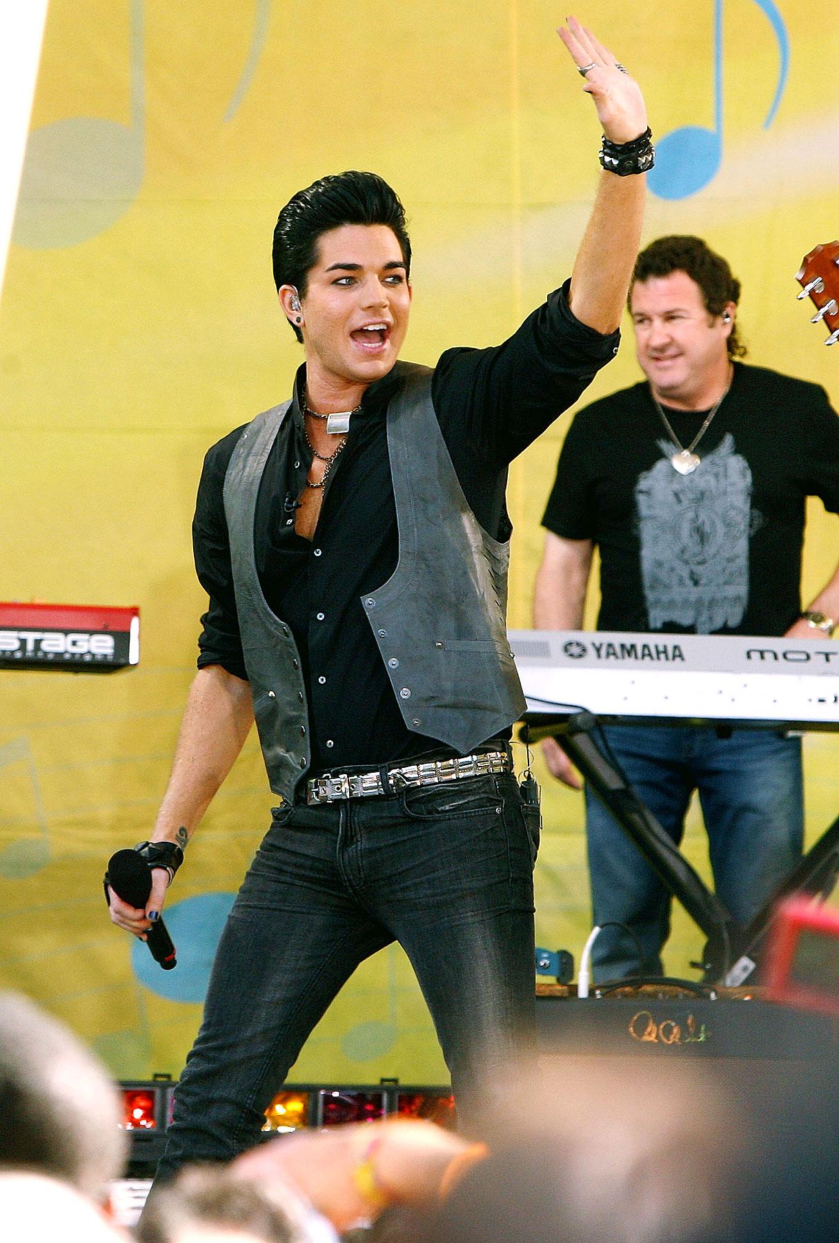 Adam Lambert Dishes on Debut Album