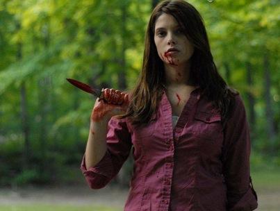VIDEO: Ashley Greene's Bloody 'New' Movie