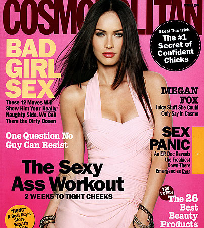 Megan Fox Is a Cosmo Girl