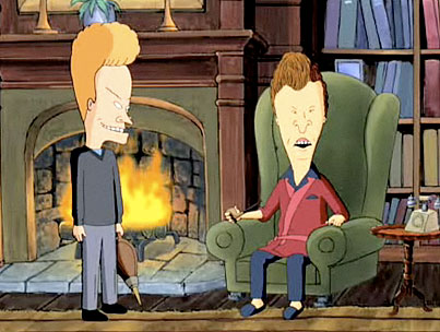 VIDEO: Beavis and Butthead Resurrected for 'Extract'