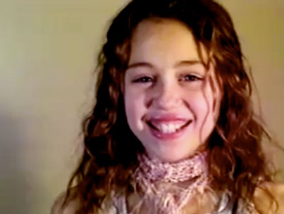 VIDEO: Miley Cyrus Auditions For 'Hannah Montana' and 'Zoey 101′
