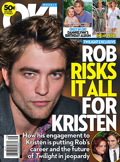 Robert Pattinson: Risking Everything for K-Stew?