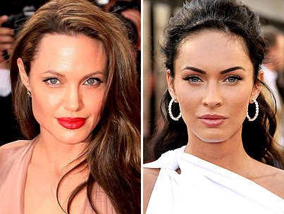 Angelina Jolie and Megan Fox Face Off for Barbarella Role
