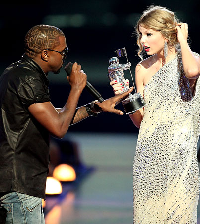 VIDEO: Kanye West Crashes Taylor Swift's Speech At VMAs