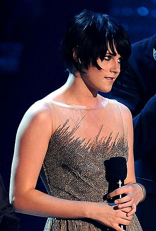 What Was Up With Kristen Stewart's VMA Hair?