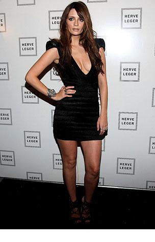 PHOTO GALLERY: Mischa Barton at NY Fashion Week