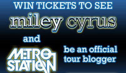 Win Miley Cyrus Tickets!