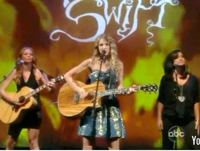 VIDEO: Taylor Swift Performs on The View