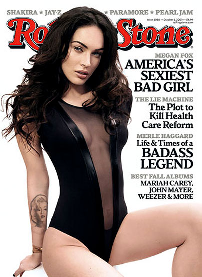 Megan Fox Has Rolling Stone Covered