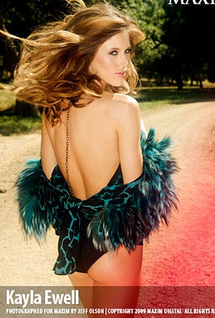 PHOTO GALLERY: Vampire Diaries' Kayla Ewell Does Maxim