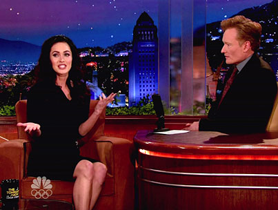 VIDEO: Megan Fox Does Conan O'Brien