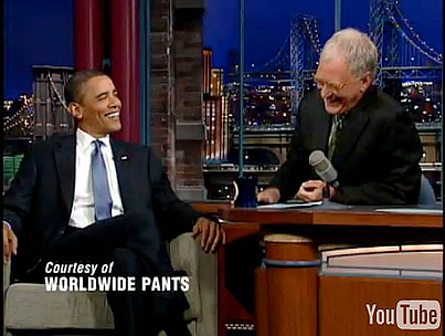 VIDEO: President Obama Does Letterman