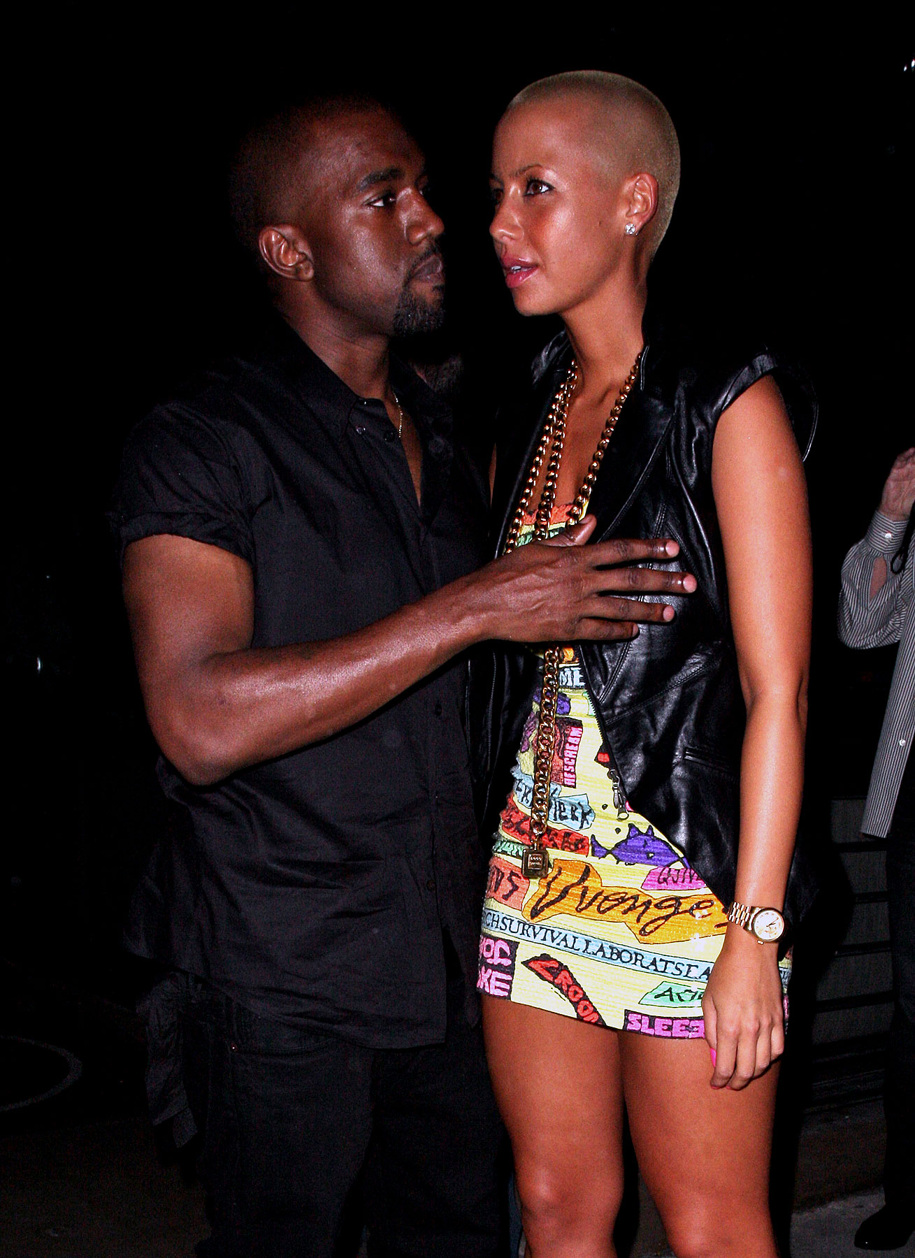 PHOTO GALLERY: Kanye West & Amber Rose Night Out