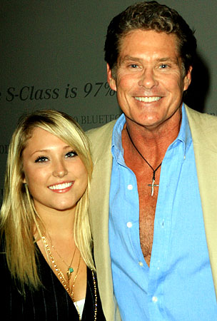 David Hasselhoff Brings His Underage Daughter to a Sex Shop