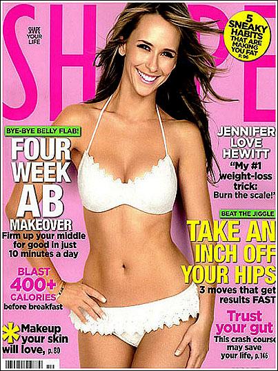 Jennifer Love Hewitt Still Hates Her Body