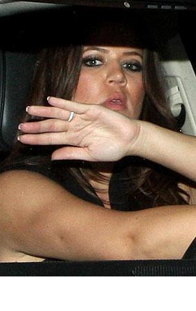 PHOTO GALLERY: Khloe Kardashian's Rocking a Ring