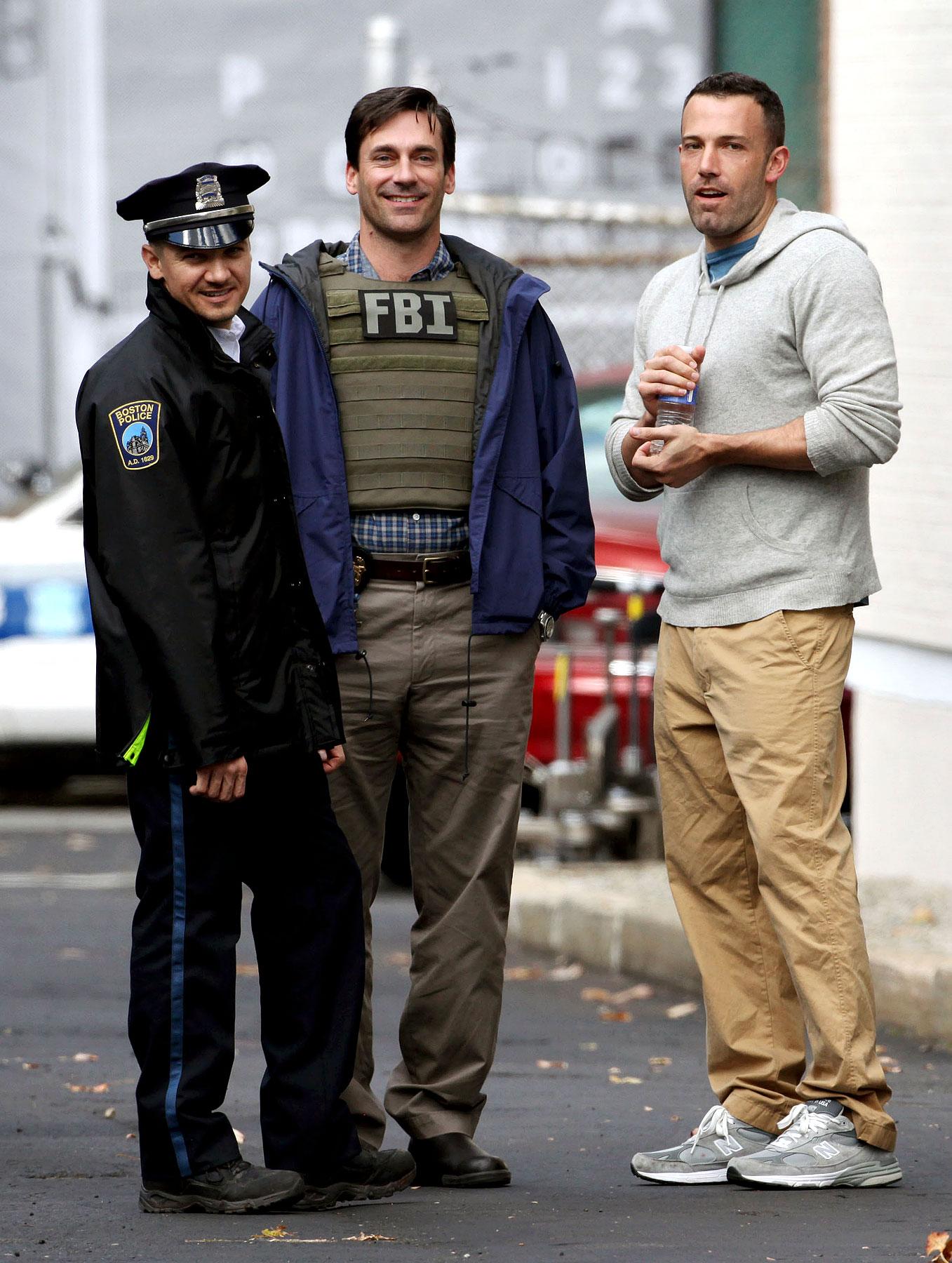 PHOTO GALLERY: Ben Affleck & Jon Hamm Film 'The Town'