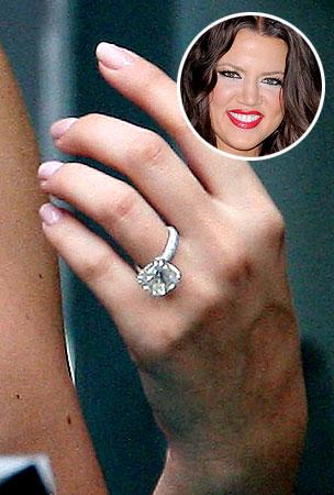 PHOTO GALLERY: Khloe Kardashian's Engagement Ring