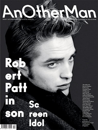 Robert Pattinson Broods for AnOther Man Magazine